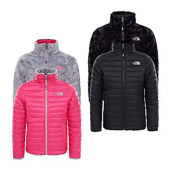 The North Face Girls Reversible Mossbud Wirbel Jacket