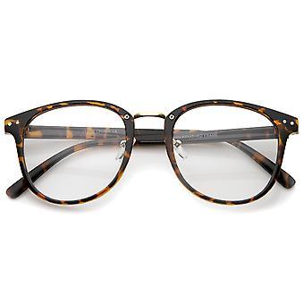 Róg Classic Metal nos most Clear Lens placu oprawkach okularów 52mm