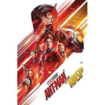 Ant-man en de WaSP poster één vel