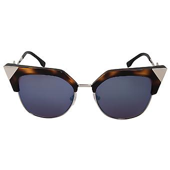 Fendi Iridia Cat Eye Sunglasses FF0149S TLV XT 54