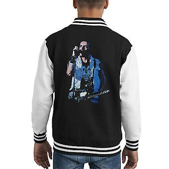 TV gange Joe Strummer sammenstød Kid's Varsity jakke