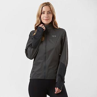 New Gore Women's C5 GORE-TEX Waterproof Active Jacket Black