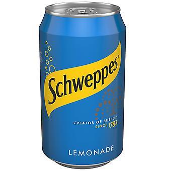Schweppes Limonade Dosen