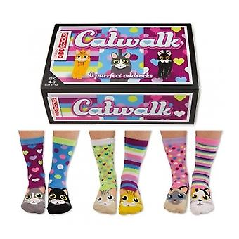 United Oddsocks Cat Design Socks