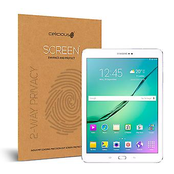 Celicious Privacy 2-Way Anti-Spy Filter Screen Protector Film Compatible with Samsung Galaxy Tab S2 9.7