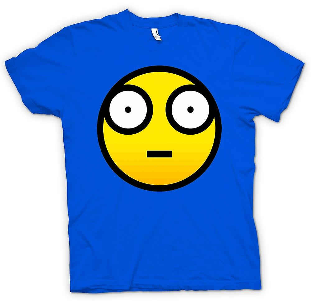 Herr T-shirt - Smiley Face - Cool Design