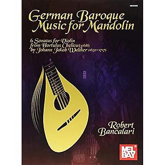 Musique Baroque allemande pour mandoline