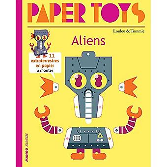 Paper Toys - Aliens: 11 Paper Aliens to Build