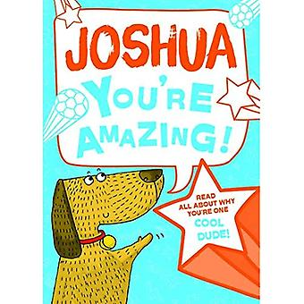 Joshua - You're Amazing!: Read All About Why You're One Cool Dude!