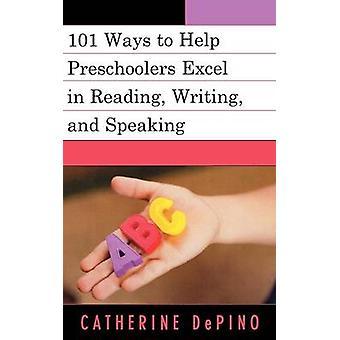 101 activités pour aider les enfants d'âge préscolaire Excel en lecture écriture et s'exprimant par DePino & Catherine