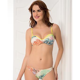 Аква Perla - женские-Ибица-неоновых цветов - двух частей бикини