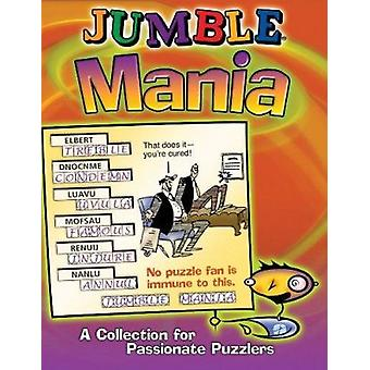 Jumble Mania  - A Collection for Passionate Puzzlers Book