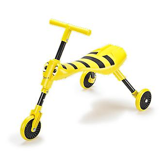 Mookie Toys Scuttlebug Bumble Toddler Trike Yellow Ages 1-3 Years