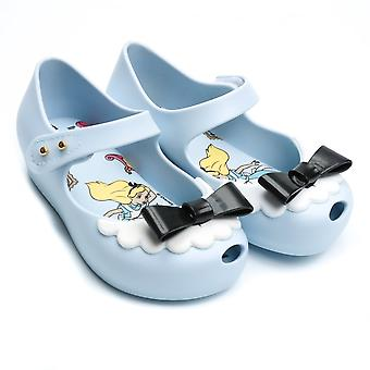 Melissa Shoes Mini Alice Ultragirl Shoe, Sky Bow
