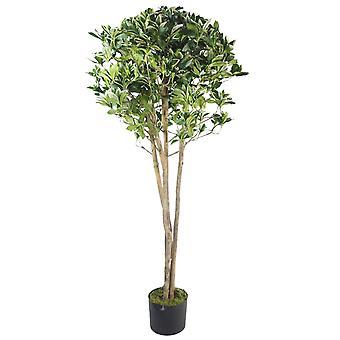 135cm Premium Artificial Plant Ficus Variegated Tree with pot