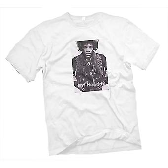 Womens T-shirt - Jimi Hendrix - Guitar Legend