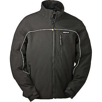 Caterpillar Mens Softshell Full Zip Jacket zwart