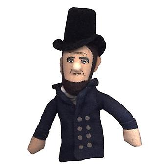 Finger Puppet - UPG - Lincoln Soft Doll Toys Gifts Licensed New 0245