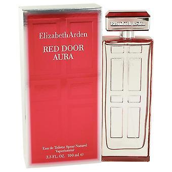 Rode deur Aura Eau de toilette spray door Elizabeth Arden 100 ml