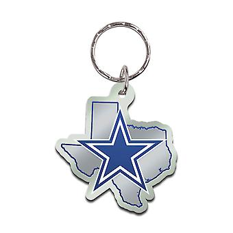 Wincraft STATE Keychain - NFL Dallas Cowboys