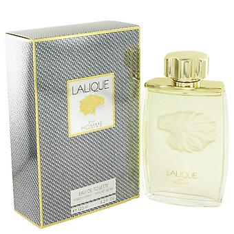 LALIQUE by Lalique Eau De Toilette Spray (Lion) 4.2 oz / 125 ml (Men)