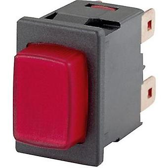 Pushbutton switch 250 Vac 16 A 1 x On/Off Marquardt