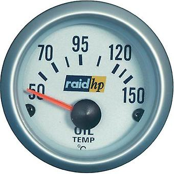 raid hp 660221 Oil Temperature Gauge 50 - 150°C voltage12V