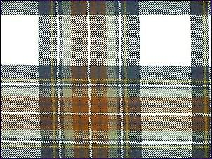 Stewart Dress Blue, gedempt - zuivere wol Tartan