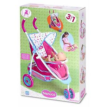 Nenuco Stroller With Car Seat (Toys , Dolls And Accesories , Baby Dolls , Strollers)