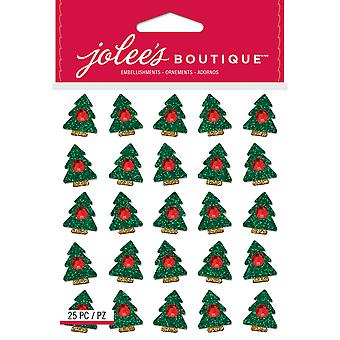 Jolee's Boutique Dimensional Stickers-Christmas Trees E5022009