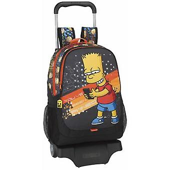 Safta Mochila 665 Con Carro 905 The Simpsons Technology