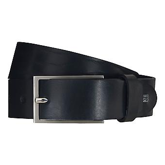 SAKLANI & FRIESE belts men's belts leather belt blue 5119