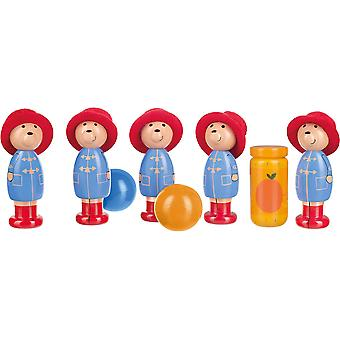 Orange træ legetøj Paddington Bear Skittles