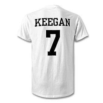 Kevin Keegan Newcastle Legend hjälte T-Shirt