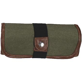 Canvas Pencil Roll Ups Holds 36-Olive 353360