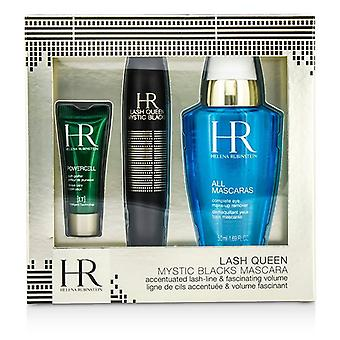 Helena Rubinstein Lash koningin Mystic zwarten Mascara Set: Mascara 7ml / 0,24 oz + make-up Remover 50 ml / 1.69 oz + Powercell 3 ml / 0,15 oz 3st
