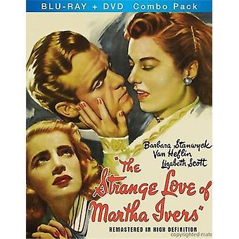 Mærkelig kærlighed af Martha Ivers [BLU-RAY] USA importerer