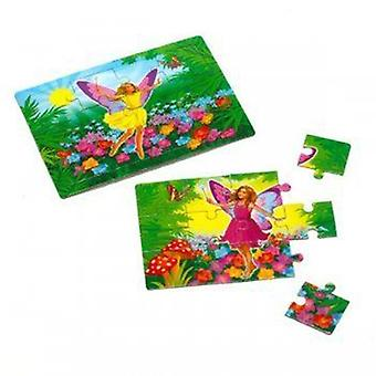 Jigsaw - Fairy design card Jigsaw