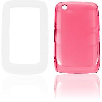 Ventev 3inONE High Gloss Snap-On Gel Case for BlackBerry 8520, 8530, 9300, 9330