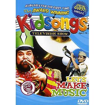 Kidsongs - Lad os gøre musik [DVD] USA importerer