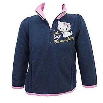 Ciao Kitty Girls Mezza Zip Fleece Jumper