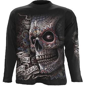 Spiral - EL MUERTO - Men's Long Sleeve T-Shirt, Black