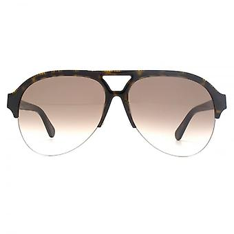 Stella McCartney Falabella Aviator Sunglasses In Havana
