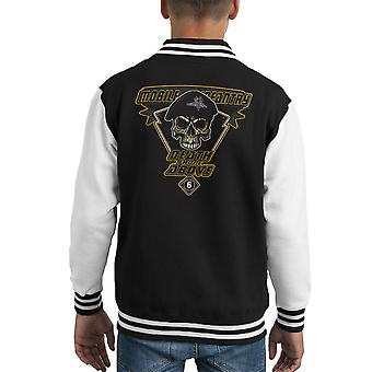 Death From Above Mobile Infantry Starship Troopers Kid's Varsity Jacket