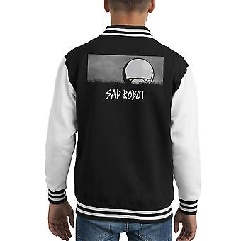 Traurige Roboter Marvin Hitchhikers Guide To der Galaxie Kid Varsity Jacket