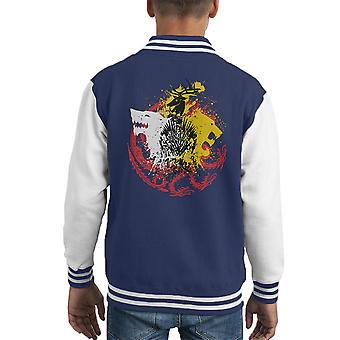 Game Of Thrones Spiel der Farben Kid Varsity Jacket