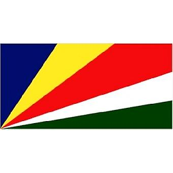Seychelles Flag 5ft x 3ft With Eyelets For Hanging