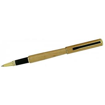 Gift Time Products Roller Ball Pen - Light Brown/Gold/Black