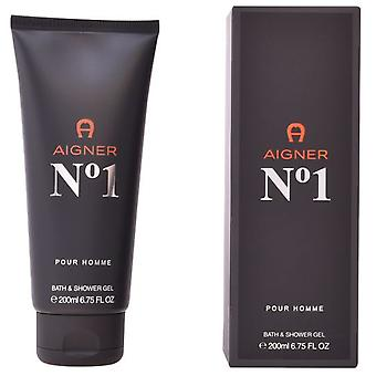 Aigner No.1 Bath And Shower Gel 200 Ml