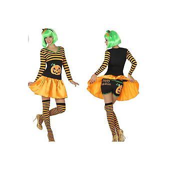 Costumes femme femmes citrouille d'Halloween robe